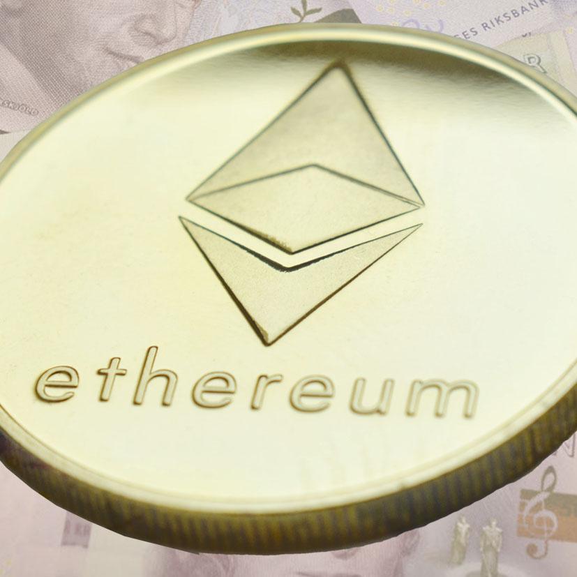 Ethereum eller Ether, valutaförkortning ETH