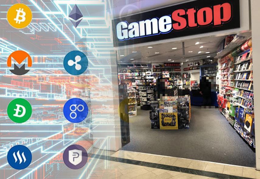 Gamestop och kryptovalutor
