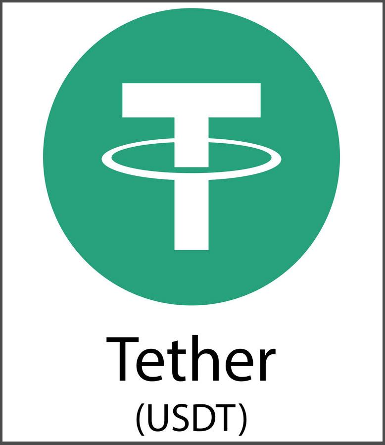 Tether, USDT - kryptovaluta-ikon